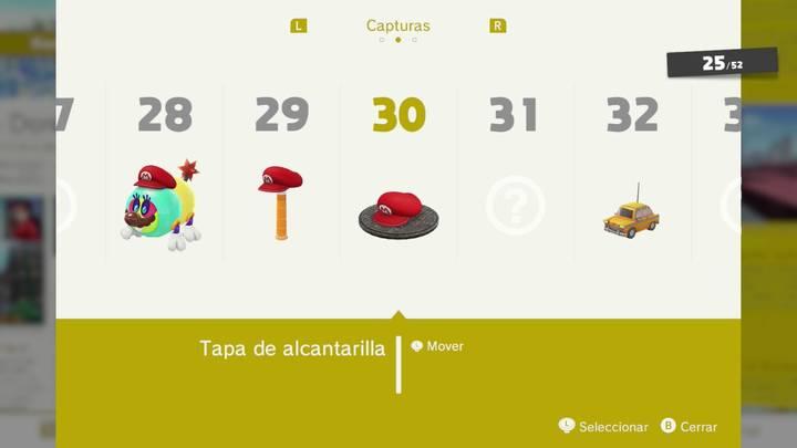Tapa de alcantarilla - Super Mario Odyssey