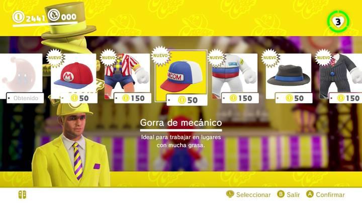 Gorra de mecánico Super Mario Odyssey