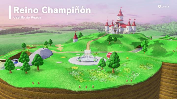 Reino Champiñón Super Mario Odyssey