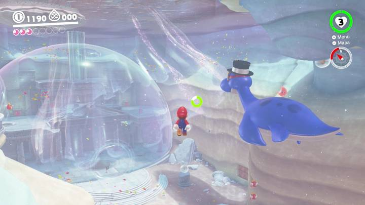 Energiluna 2 Reino del Lago Super Mario Odyssey