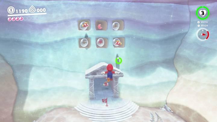 Energiluna 3 Reino del Lago Super Mario Odyssey