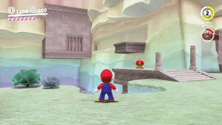 Energiluna 4 Reino del Lago Super Mario Odyssey