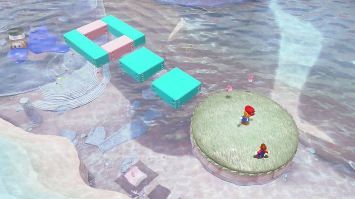 Energiluna 11 Reino del Lago Super Mario Odyssey