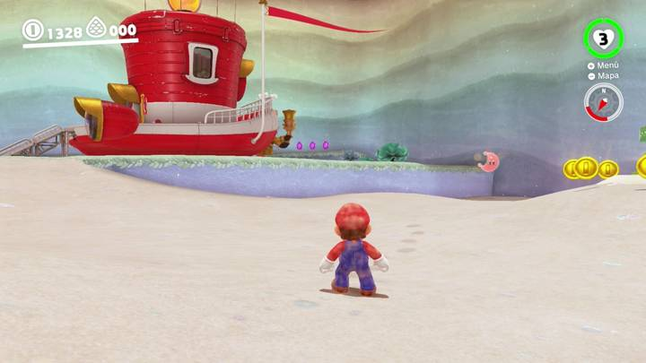 Energiluna 6 Reino del Lago Super Mario Odyssey
