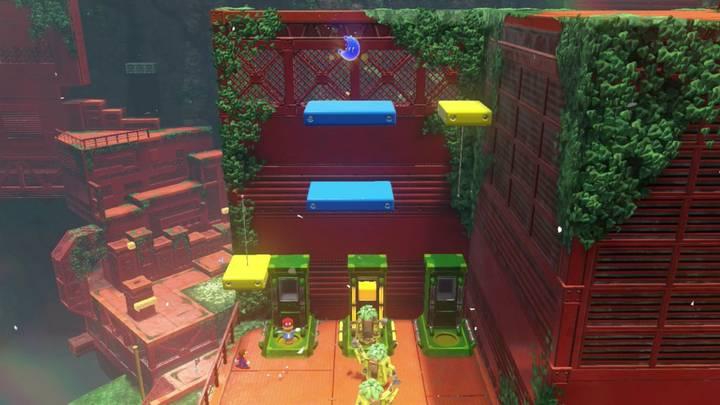 Energiluna 38 Reino Arbolado Super Mario Odyssey