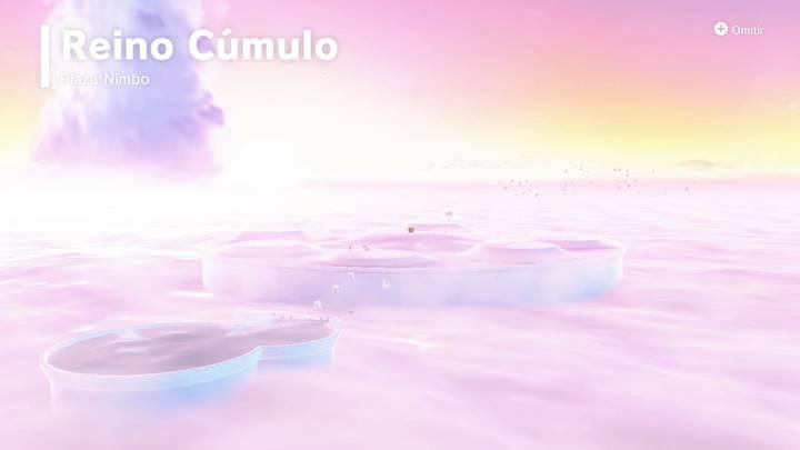 Vida sobre las nubes Reino Cúmulo Super Mario Odyssey