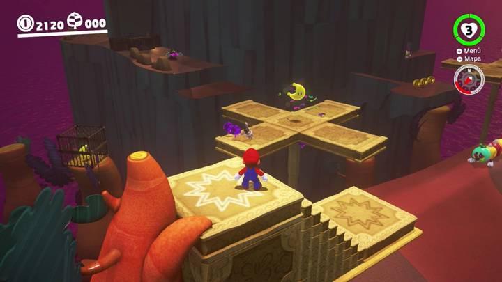 Energiluna 10 Reino Perdido Super Mario Odyssey
