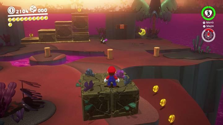 Energiluna 11 Reino Perdido Super Mario Odyssey