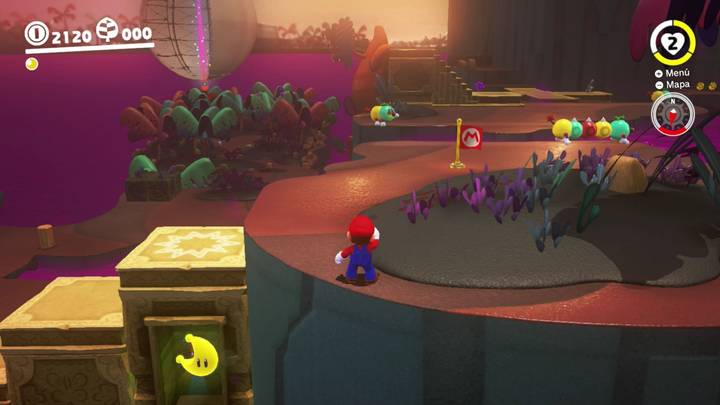 Energiluna 12 Reino Perdido Super Mario Odyssey