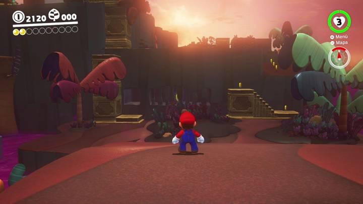 Energiluna 3 Reino Perdido Super Mario Odyssey