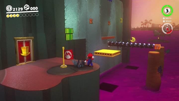 Energilunas 5 y 6 Reino Perdido Super Mario Odyssey