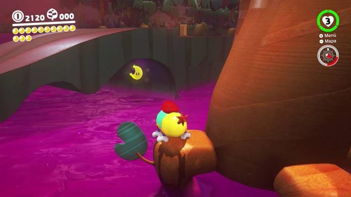 Energiluna 16 Reino Perdido Super Mario Odyssey