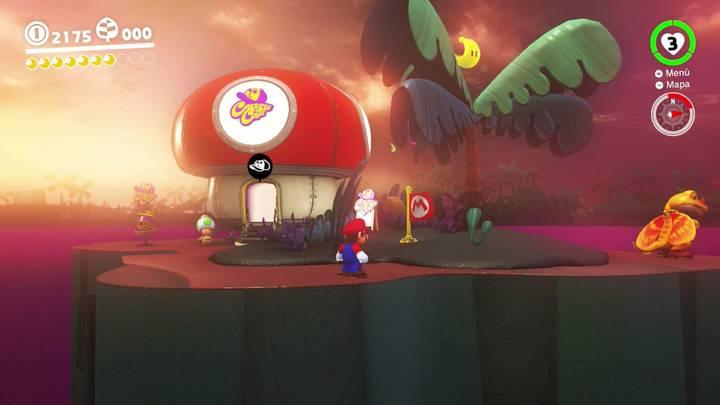 Energiluna 8 Reino Perdido Super Mario Odyssey