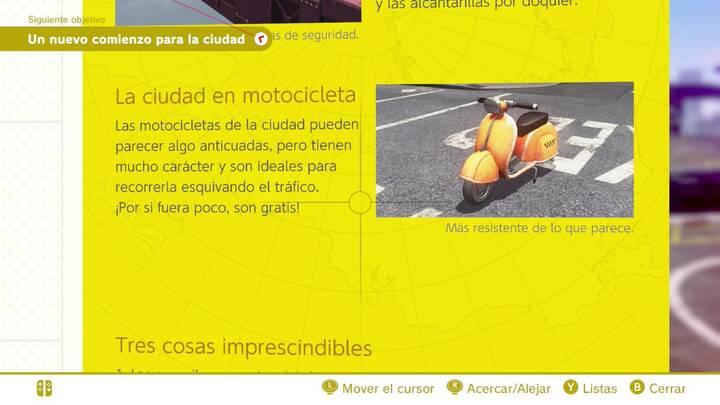 La ciudad en motocicleta Reino Urbano Super Mario Odyssey