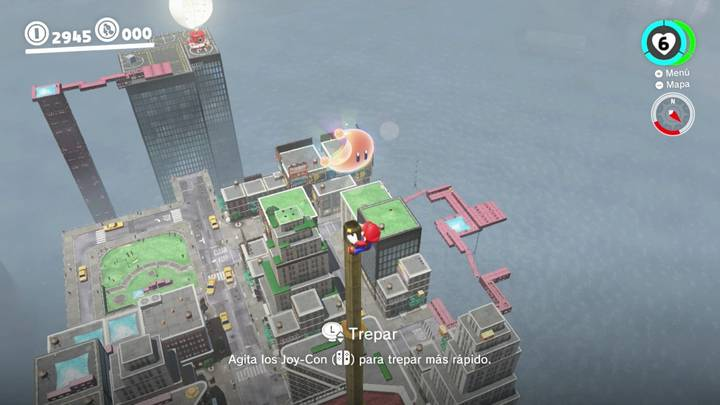 Energiluna 12 Reino Urbano Super Mario Odyssey