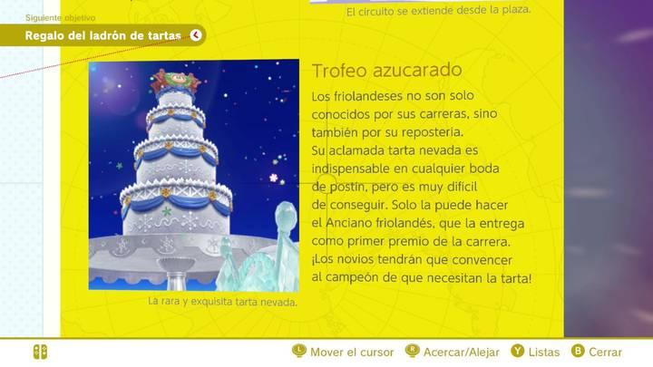 Trofeo azucarado Reino del Hielo Super Mario Odyssey