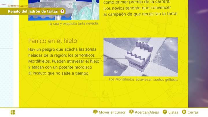 Pánico en el hielo Reino del Hielo Super Mario Odyssey