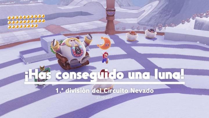 Energiluna 29 Reino del Hielo Super Mario Odyssey
