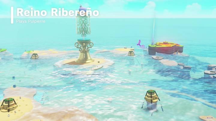 Reino Ribereño Super Mario Odyssey