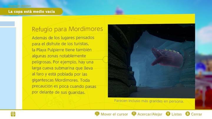 Refugio para Mordimores Reino Ribereño Super Mario Odyssey
