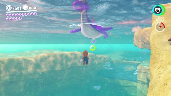 Energiluna 14 Reino Ribereño Super Mario Odyssey