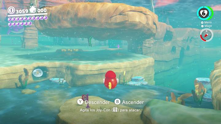 Energiluna 16 Reino Ribereño Super Mario Odyssey