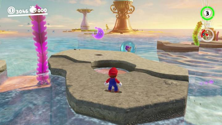 Energiluna 17 Reino Ribereño Super Mario Odyssey