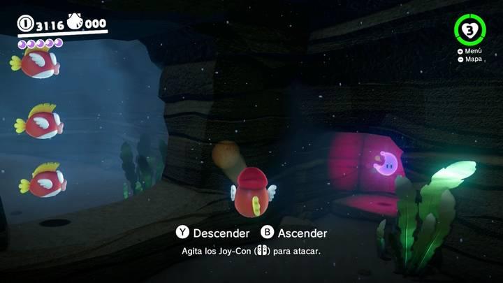 Energiluna 39 Reino Ribereño Super Mario Odyssey
