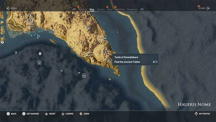 Tumba de Smenkhkare  en Haueris en Desierto Remoto de Assassin's Creed Origins