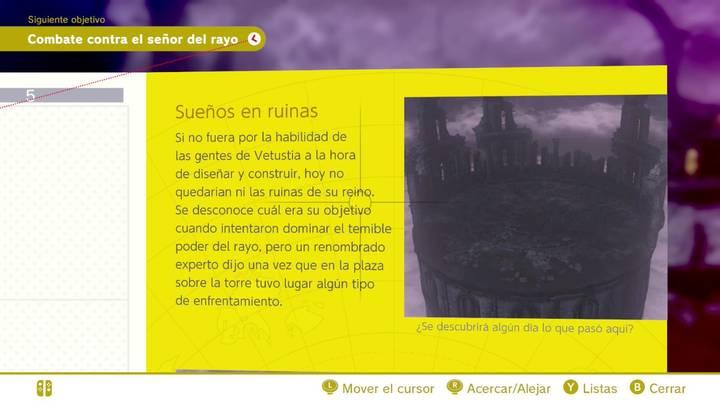 Sueños en ruinas Reino de las ruinas Super Mario Odyssey