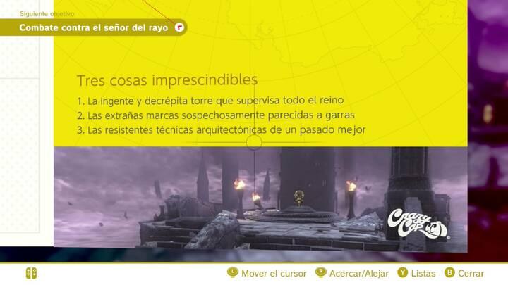 Tres cosas imprescindibles Reino de las ruinas Super Mario Odyssey