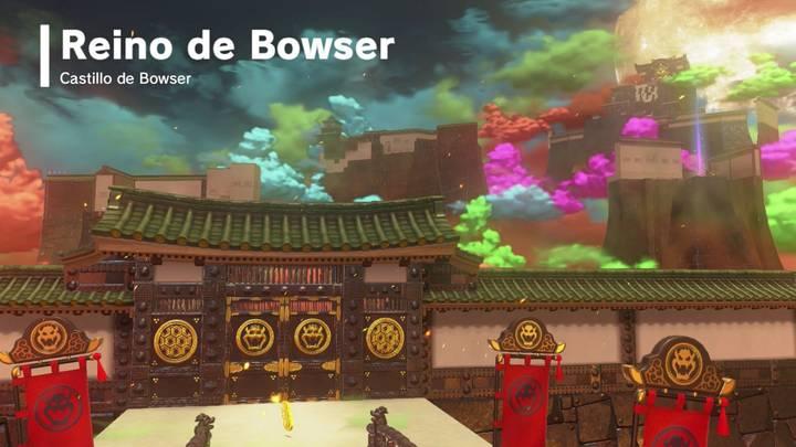 Reino de Bowser Super Mario Odyssey