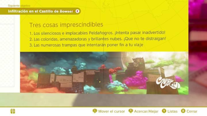 Tres cosas imprescindibles Reino de Bowser Super Mario Odyssey
