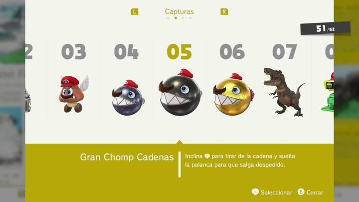 Gran Chomp Cadenas - Super Mario Odyssey