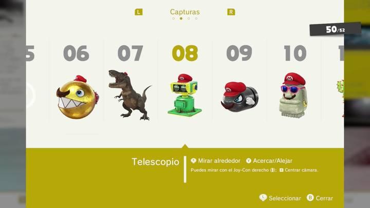 Telescopio - Super Mario Odyssey