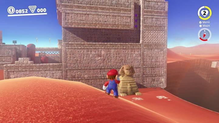 Kin Triga Reino de las Arenas Super Mario Odyssey