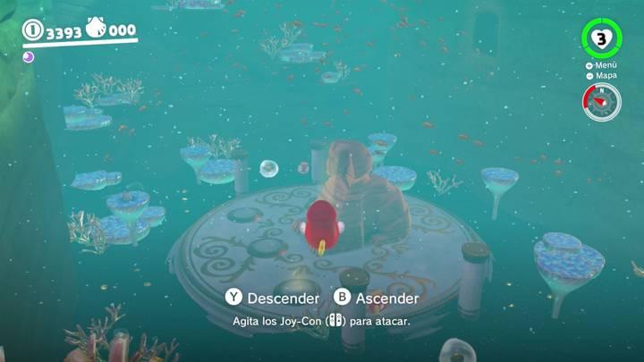 Kin Triga Reino Ribereño Super Mario Odyssey