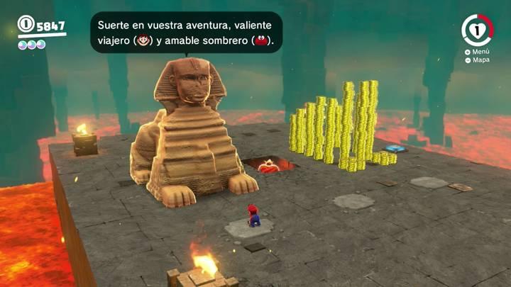 Kin Triga Cara más Oculta Super Mario Odyssey