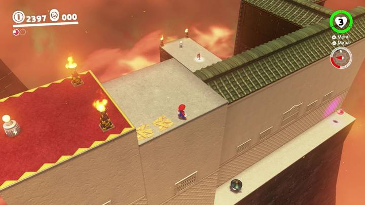 Energiluna 5  Reino de Bowser Super Mario Odyssey