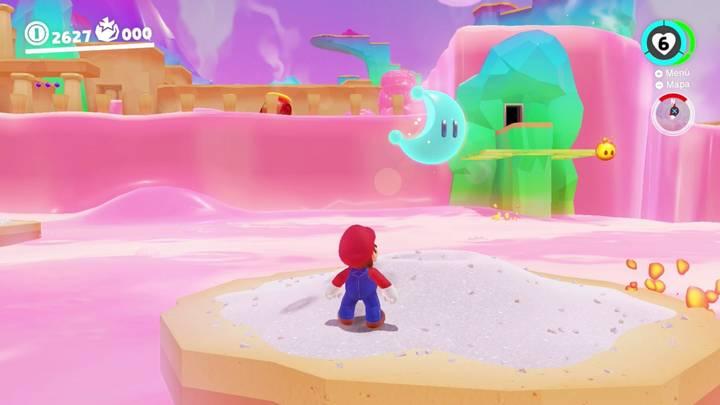 Energiluna 12 Reino de los Fogones Super Mario Odyssey