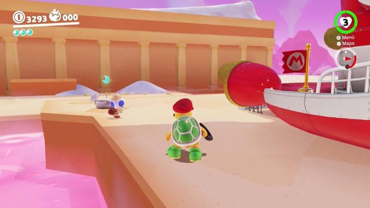 Energiluna 30 Reino de Los Fogones Super Mario Odyssey