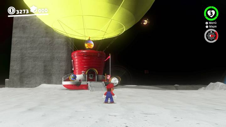 Energiluna 1 Reino Luna Super Mario Odyssey