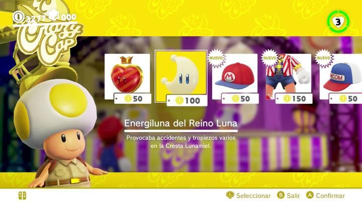 Energiluna 20 Reino Luna Super Mario Odyssey