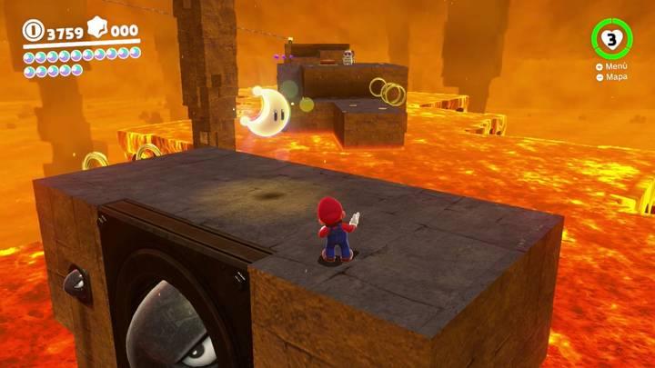 Energiluna 12 Reino Luna Super Mario Odyssey