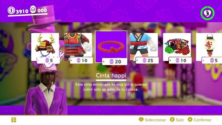 Cinta happi Mario Odyssey