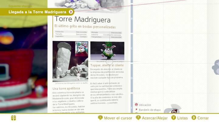 Topper, atento al cliente - Cara oculta de la luna Super Mario Odyssey