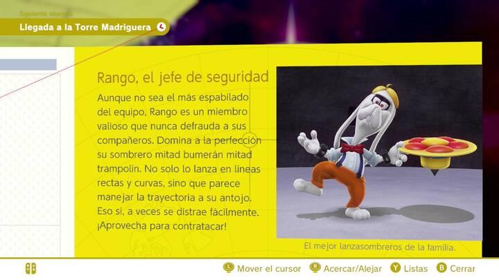 Rango, el jefe de seguridad - Cara oculta de la luna Super Mario Odyssey