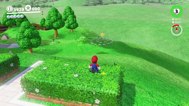 Energiluna 8 del Reino Champiñón Super Mario Odyssey