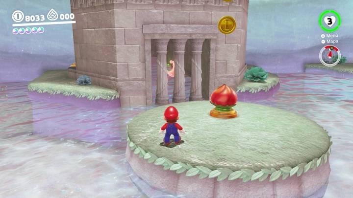 Energiluna 34 Reino del Lago Super Mario Odyssey