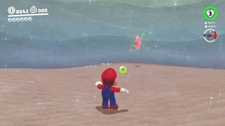 Energiluna 36 Reino del Lago Super Mario Odyssey